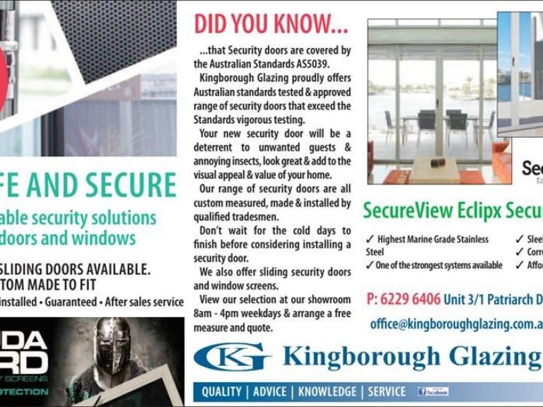 Advert Oct 2019 Kingb Chronicle Security Doors